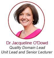 Dr Jacqueline O'Dowd